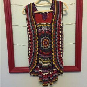 Crochet Vest Sz XS/S